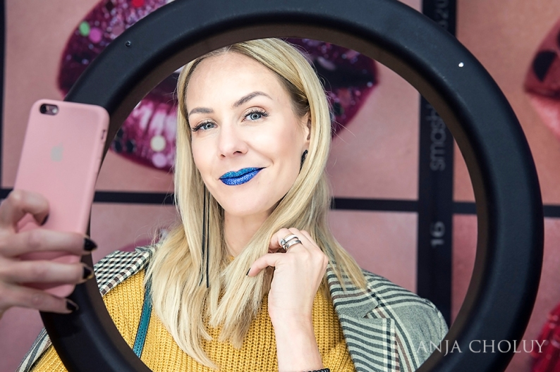 anja choluy smashbox lip art LA trend warsaw